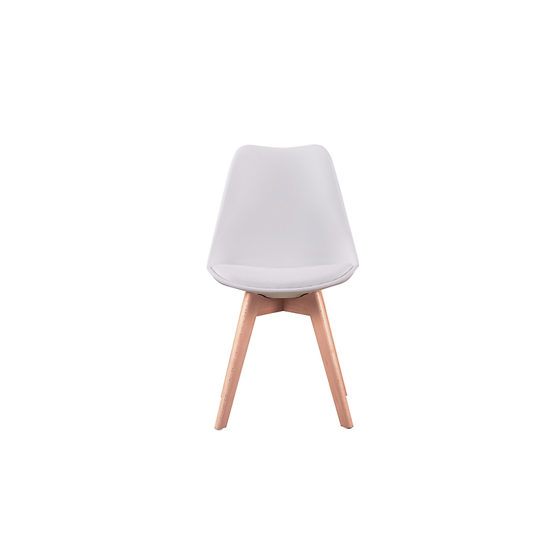 Lot de 2 chaises scandinaves ANDREAS  blanche