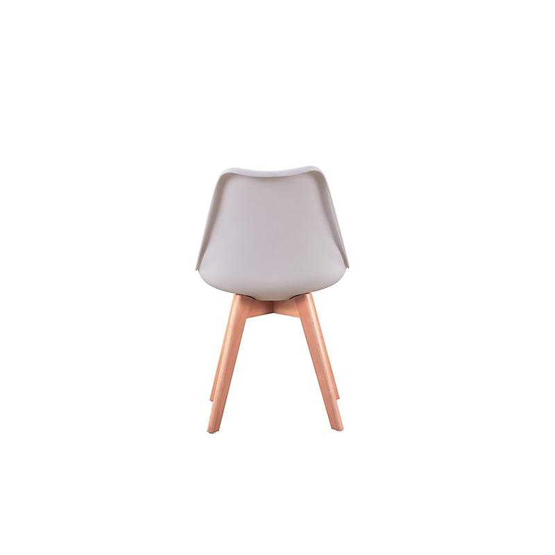 Lot de 2 chaises scandinaves ANDREAS  blanche