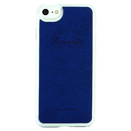 Coque iPhone 6/6s/7 Faconnable Bleu au meilleur prix   E.Leclerc