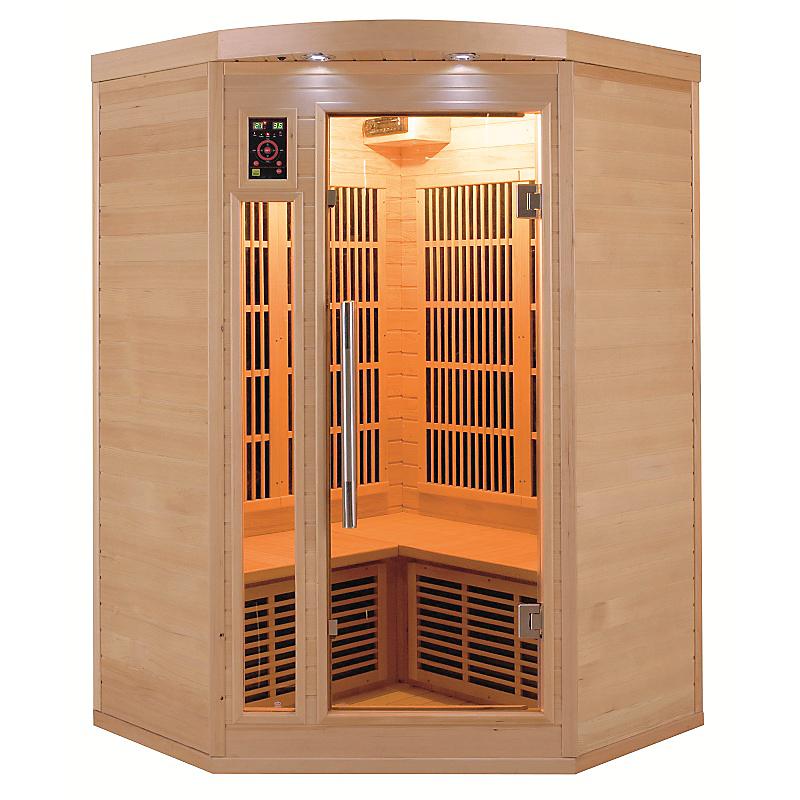 Sauna Apollon 2/3 places Angle