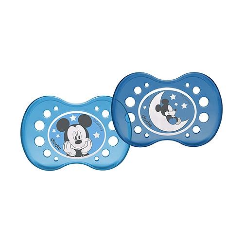Sucettes mickey duo 18 mois et +