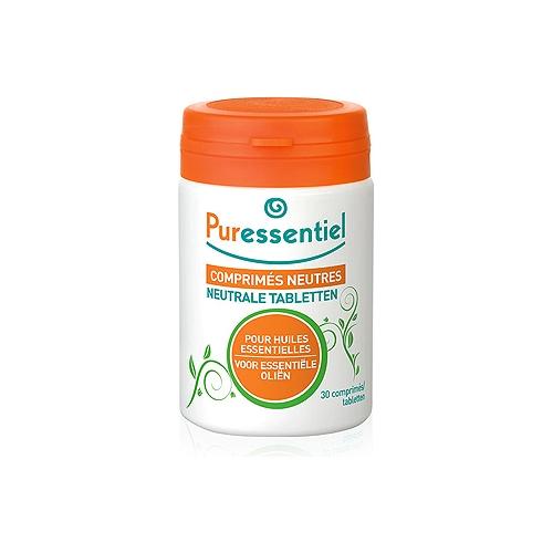 Comprimés neutres pour huiles essentielles  30 comprimés