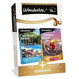 Wonderbox - ESCAPADE EN DUO + MOMENTS EN DUO