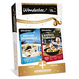 Wonderbox - WEEK-END EN AMOUREUX + BISTROTS ET SAVEURS