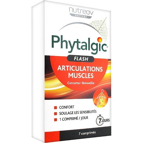 Phytalgic flash articulations muscles 7 comprimés