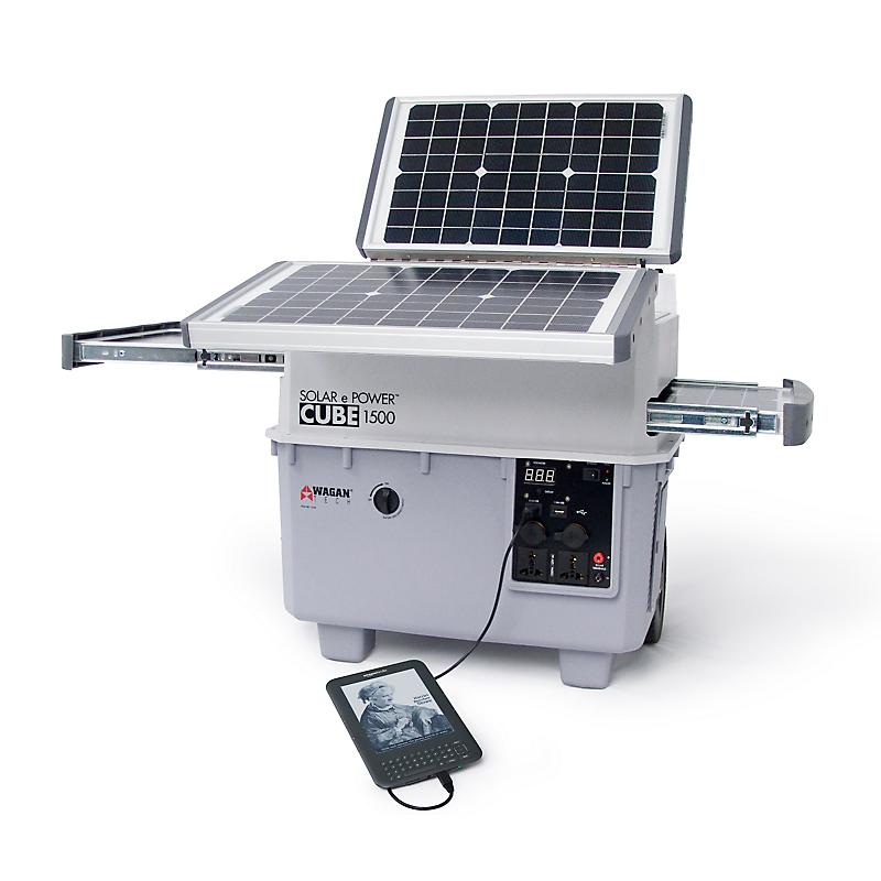 Groupe éléctrogène solaire 1500 W