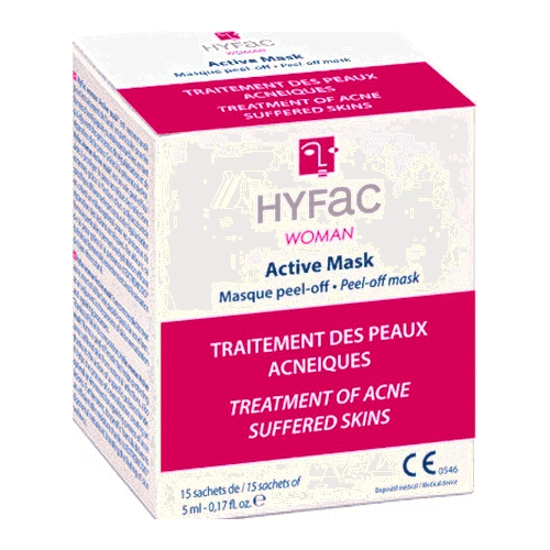 Hyfac woman active mask x15