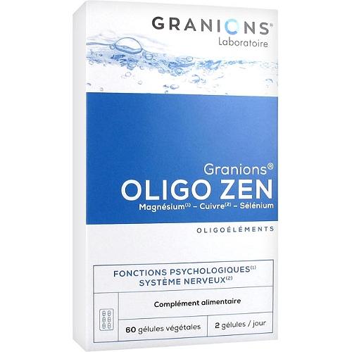 Granions oligo zen 60 gélules végétales