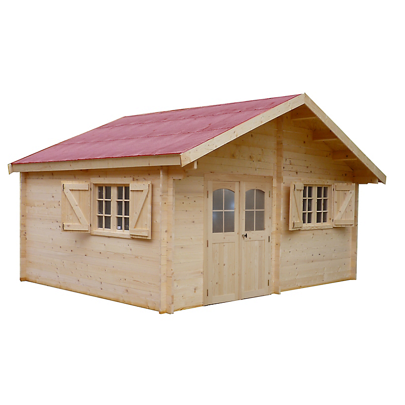 abri jardin habrita m maison et loisirs e leclerc. Black Bedroom Furniture Sets. Home Design Ideas