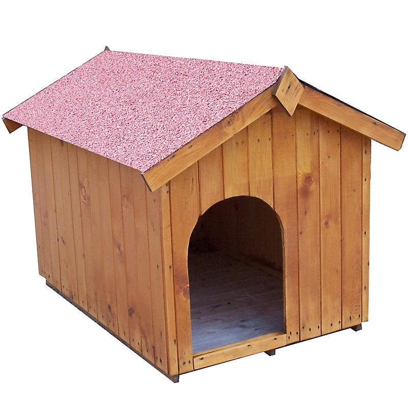 Niche Bois HABRITA pour petit chien