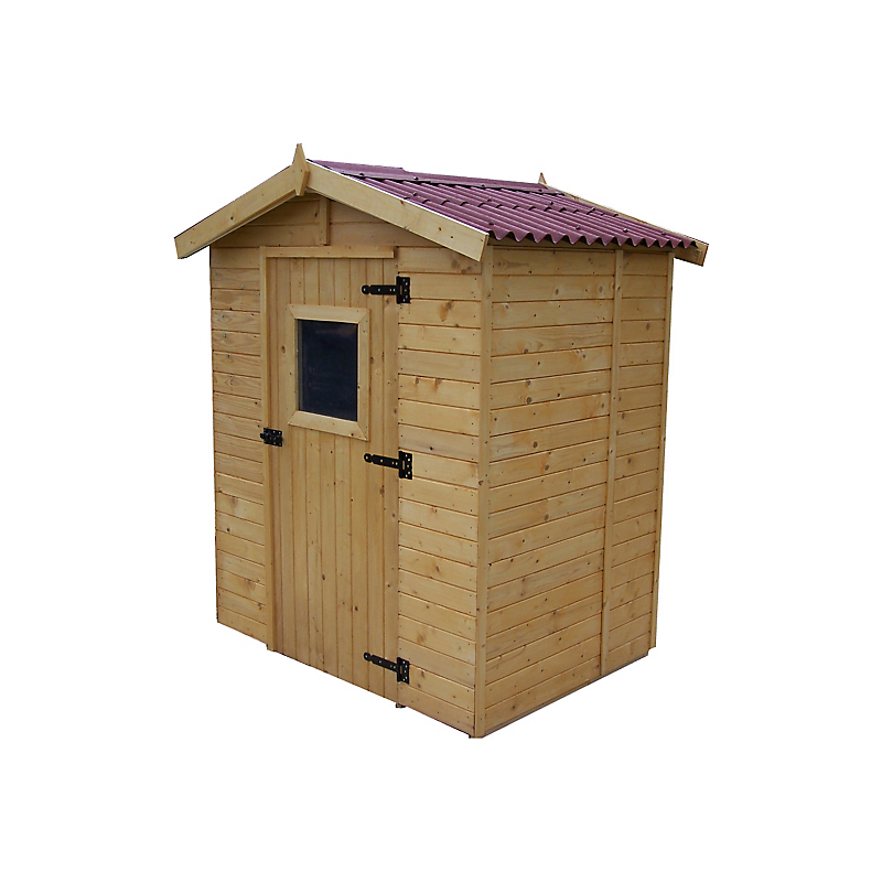 abri de jardin en bois pas cher Abris de jardin bois 16 mm 1,83 m² - HABRITA