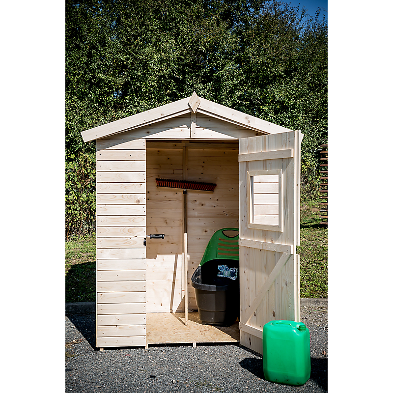 Abri de jardin bois 16 mm 1,83 m² - HABRITA