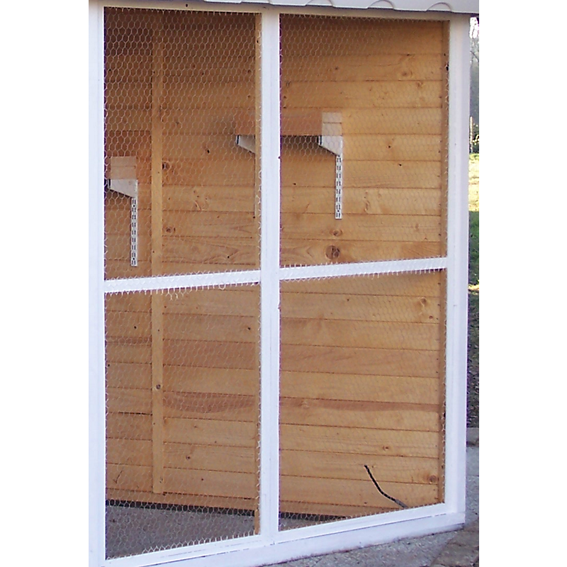 Volière en bois HABRITA 9,6 m²
