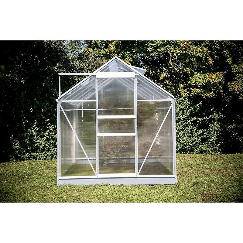 Serre HABRITA polycarbonate alu gris 5,92 m²
