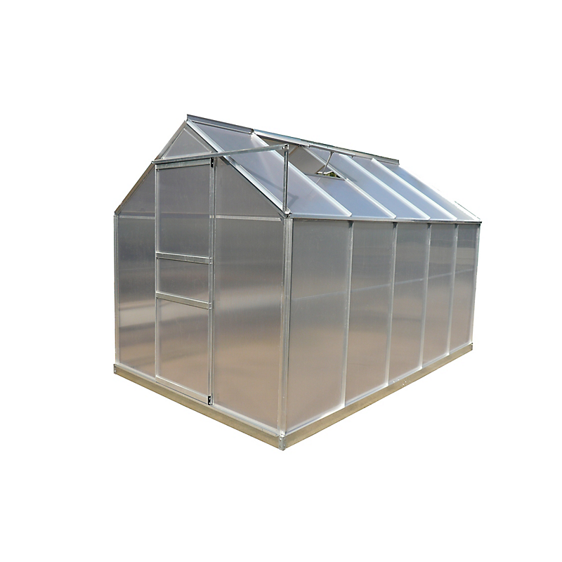 Serre HABRITA polycarbonate alu gris 6,03 m²