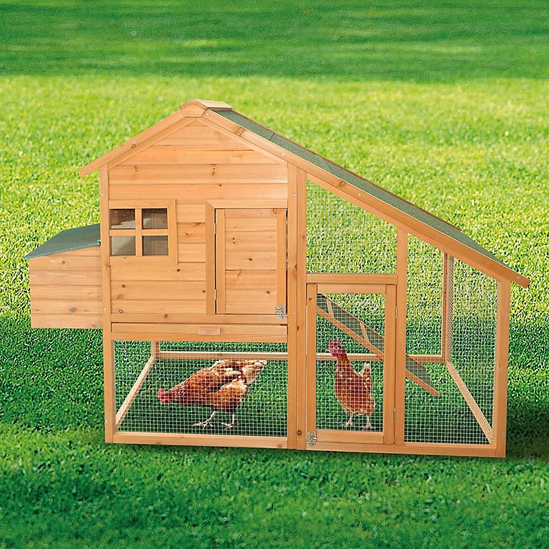 Poulailler bois 2 à 3 poules - HABRITA