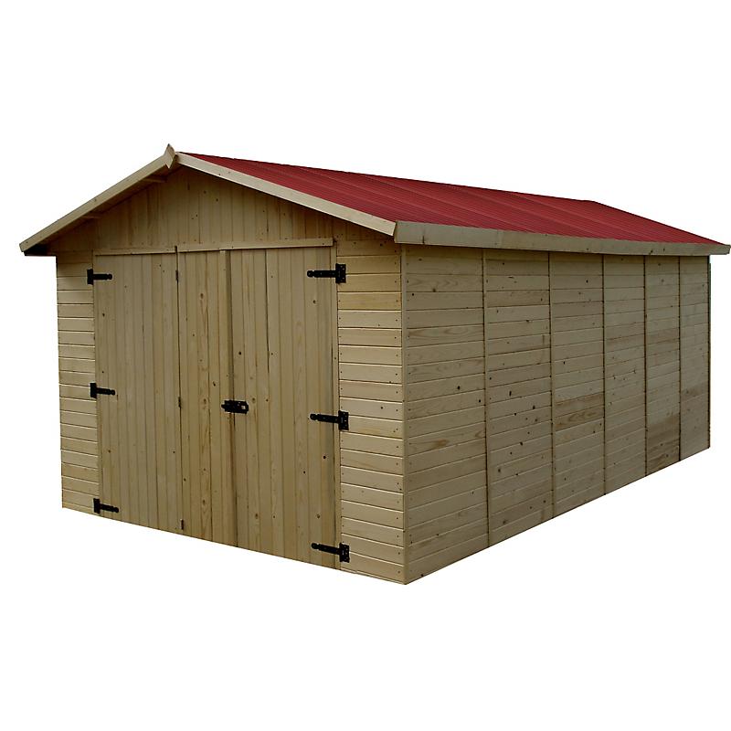Garage Panneaux En Bois Habrita  M C B