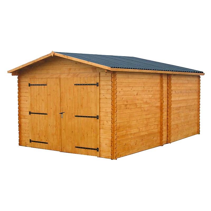 Garage bois HABRITA 17,19 m²