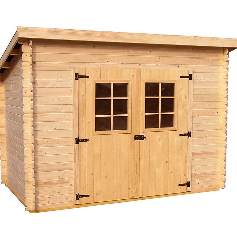 abri de jardin en bois pas cher Abri de jardin bois CHARENTE 20MM 4,59 m²