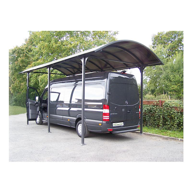 Carport toit pour Camping Car 27,51 m²