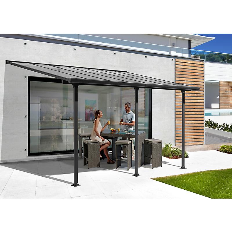 Toit Terrasse Aluminium 4,18m x 3m (12,83 m²)