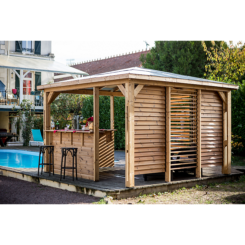 Pool House BLUETERM 14.36 m²
