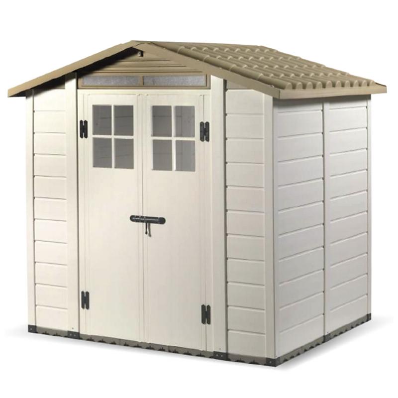 Abri de jardin en résine 22MM 3,98 m² - HABRITA