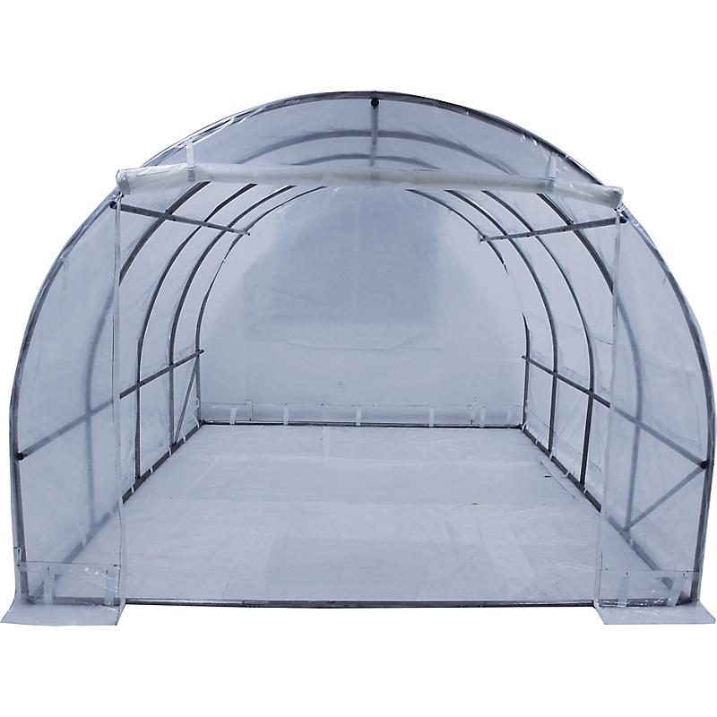 Serre jardin tunnel structure métal 3x3 M