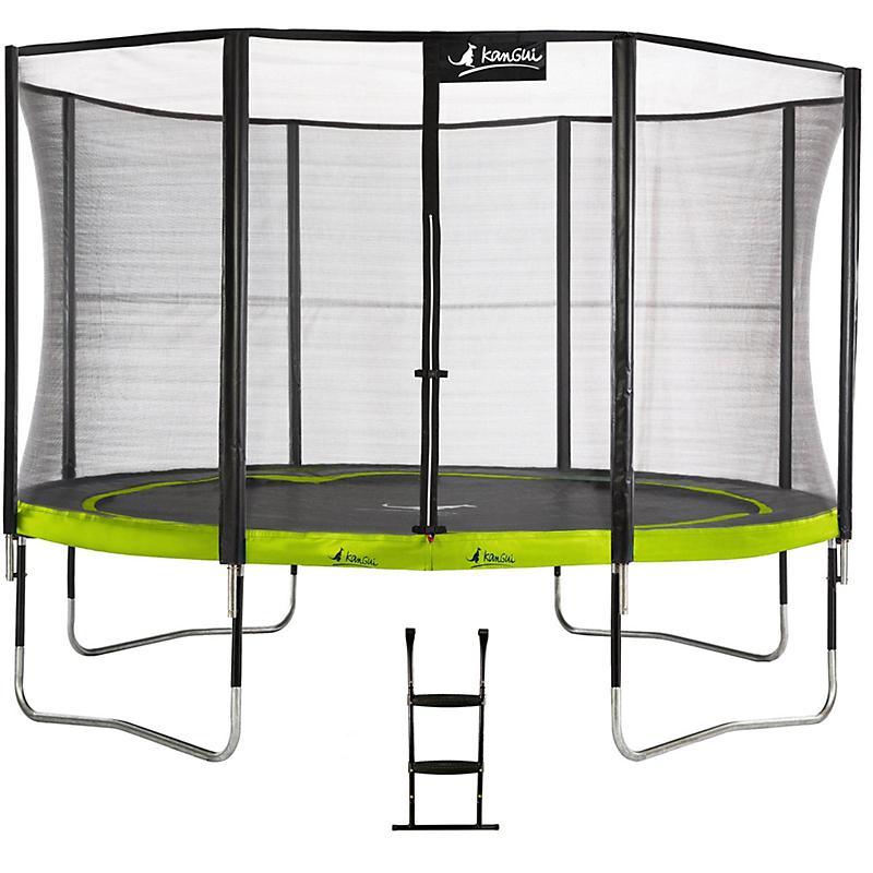 Trampoline Punchi ALOE 360 + échelle - KANGUI