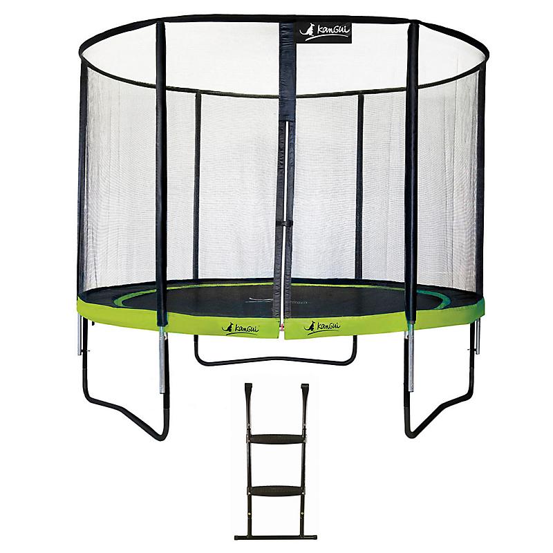Trampoline Punchi ALOE 300 + échelle - KANGUI
