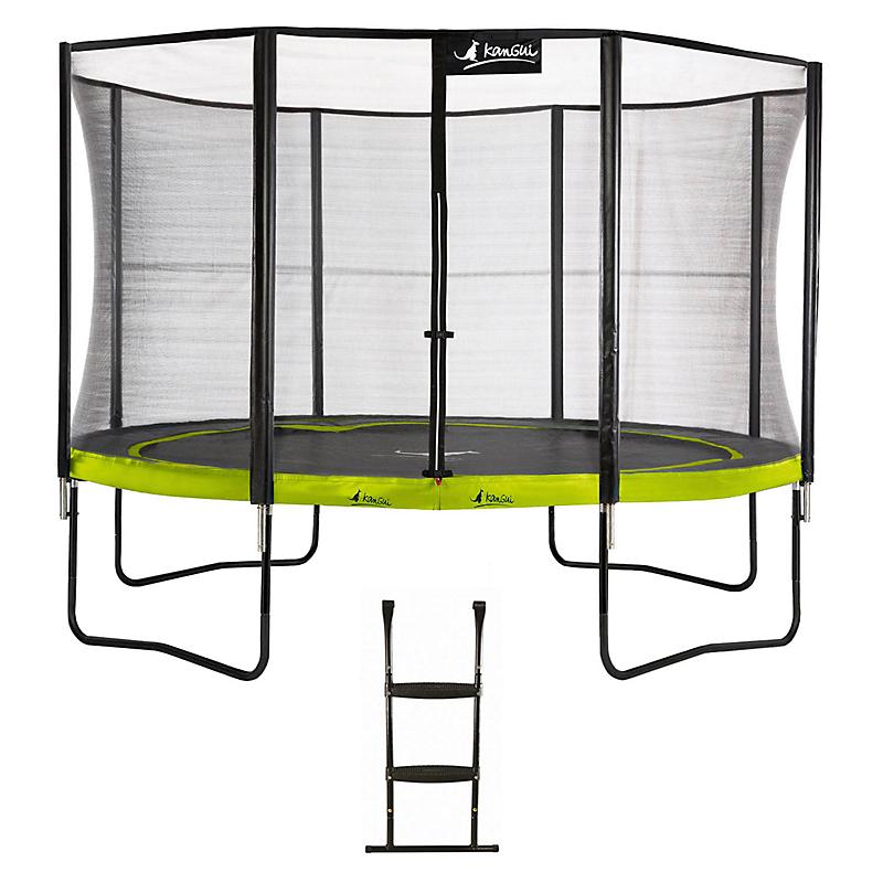 Trampoline Punchi ALOE 430 + échelle - KANGUI