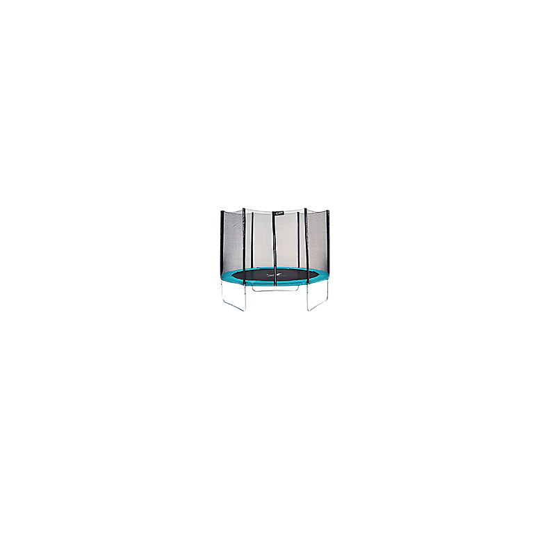 Trampoline Ø305 cm + filet + couverture de propreté + échelle