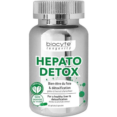 Longevity hepato detox 60 gélules