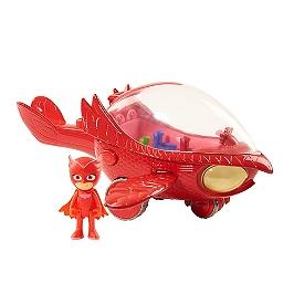 PJM - Véhicule Deluxe Electronique (sonore et lumineux) avec figurine - BIBOU - Eone  - PJM105