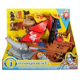 Fisher-Price - Bateau Pirate Requin Imaginext - Figurine - 3 Ans Et + - Imaginext - DHH61