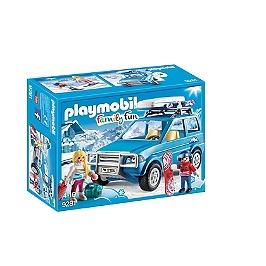 PLAYMOBIL - Voiture de montagne coffre - 9281