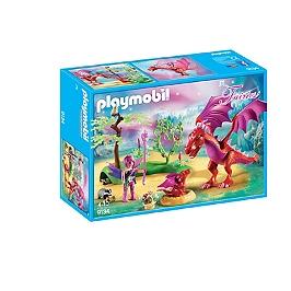 PLAYMOBIL - Gardienne des fées avec dragons - 9134