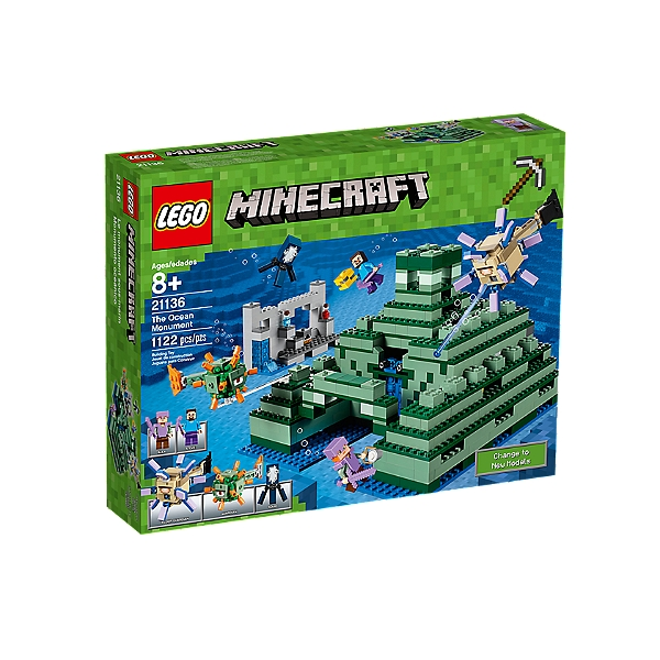 21136 Minecrafttm Marin Sous Lego® Le Monument W29DEIH