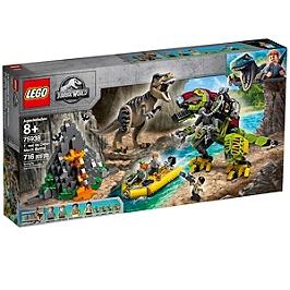 Lego® Jurassic World - La Bataille Du T. Rex Contre Le Dino-Mech - 75938 - 75938