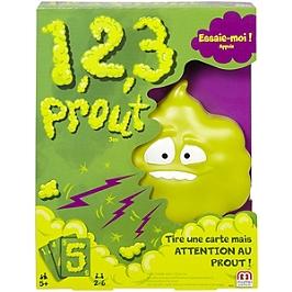 Mattel Games - 123 Prout - Jeu De Société Familles - 5 Ans Et +  - Jeux Mattel - DVJ49