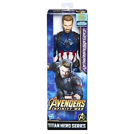 AVENGERS INFINITY WAR - FIGURINE TITAN 30 CM CAPTAIN AMERICA - Avengers - E1421ES00