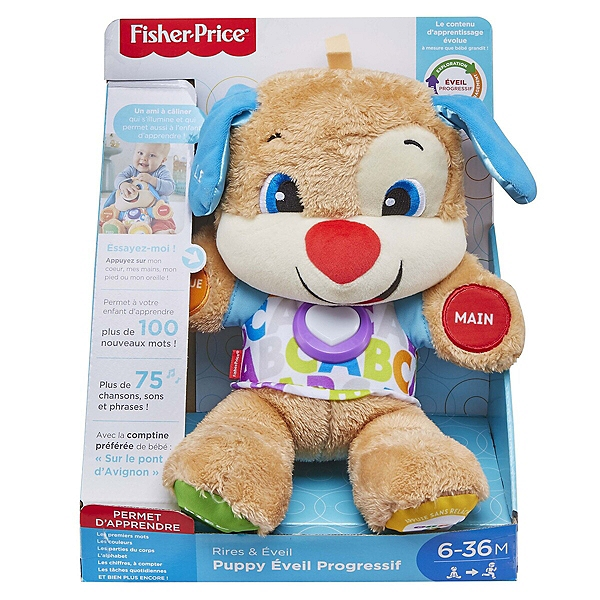 Nouveau Puppy Interactif Fisher Price