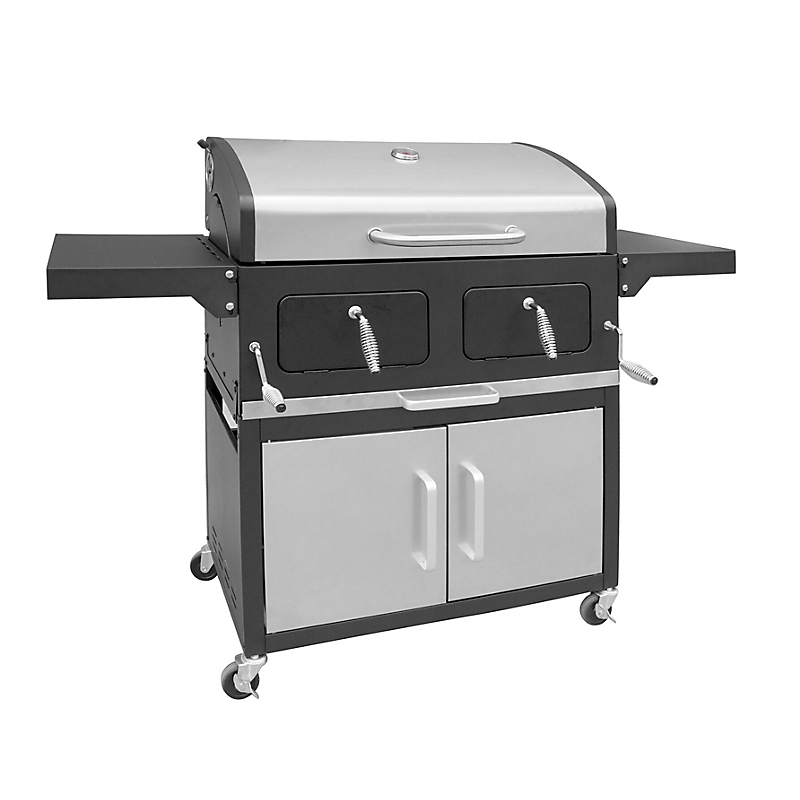 Barbecue chariot à charbon XXL