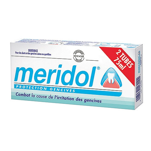 Meridol Dentifrice Protection gencives 2 x 75ml