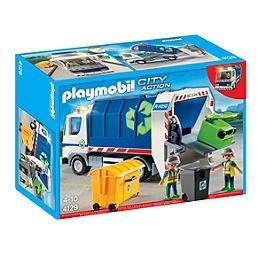 Camion de recyclage avec lumières - 4129