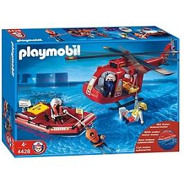 Sauveteurs / hélicoptère / bateau - 4428