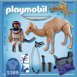 PLAYMOBIL - Combattant égyptien avec dromadaire - 5389
