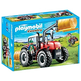 PLAYMOBIL - Grand tracteur agricole - 6867
