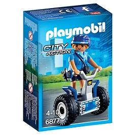 PLAYMOBIL - Policière avec gyropode  - 6877