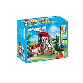 PLAYMOBIL - Box lavage pour chevaux  - 6929